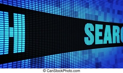 Search Side Text Scrolling LED Wall Pannel Display Sign...
