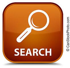 Search special brown square button