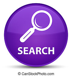 Search special purple round button