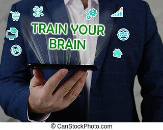 Search TRAIN YOUR BRAIN button. Modern Merchant use internet technologies.