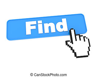 Search Web Button. - Search Blue Web Button. Isolated on...