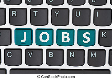 Searching for jobs online