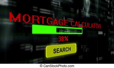 Searching for mortgage calculator online