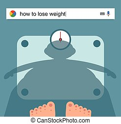 Searching the web for information about weight loss vector