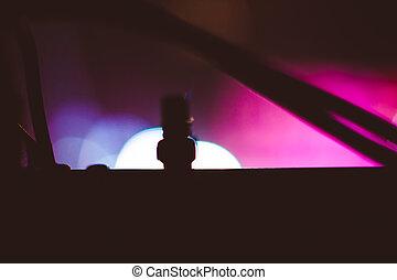 searchlights, -ban, egy, egyetértés