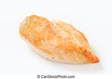 Seared chicken breast - Studio shot of seared chicken breast