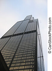 Sears Tower in Chicago, US