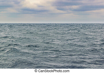 Seascape and Sky Background