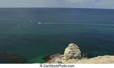 Seascape Cape Tarhankut, Crimea, Ukraine