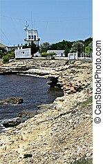 seascape, Crimea, Black sea