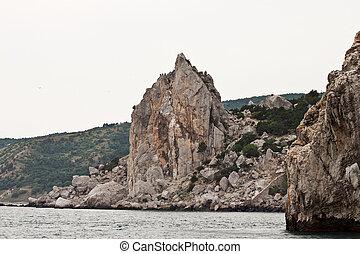 Seascape, Crimean Peninsula, Ukraine, Black Sea Coast