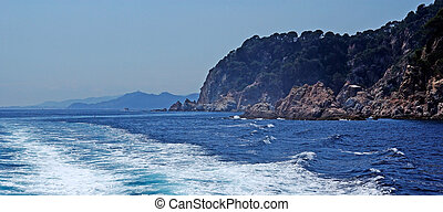 Seascape in Lloret de Mar, Costa Brava, Spain. More in my gallery.