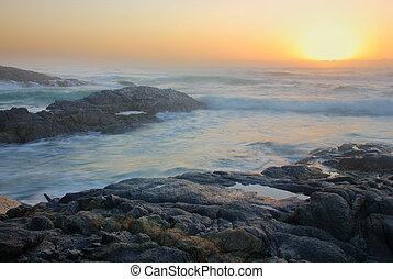 Seascape in South Africa