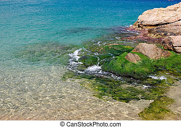 Seascape in Tossa de Mar, Costa Brava, Spain. More inm y gallery.
