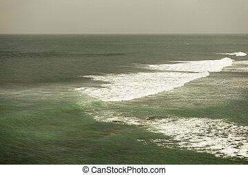 sea and sky on Sri Lanka