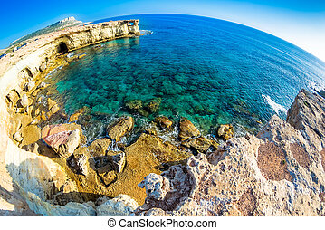Seascape near Ayia Napa. Cyprus