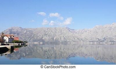 seascape of Boka Bay, Montenegro