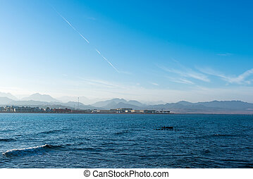 seascape of the Red Sea