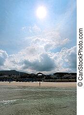 Seascape on the island