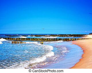 Seascape, pôr do sol