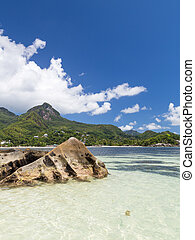 seascape with big stones