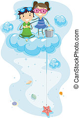Seashell Fishing