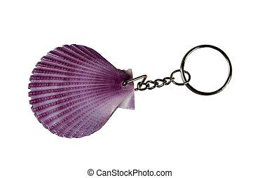 seashell, keychain