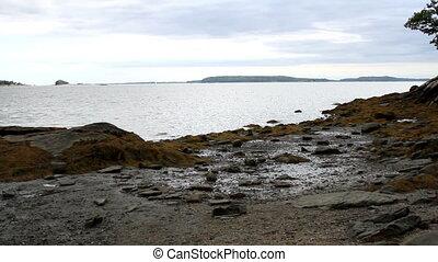 Seashore Maine USA Scenic View - Maine USA Scenic View of...