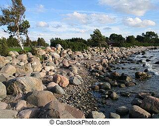 seashore near tallinn, estonia