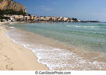 Seashore of Mondello - Seashore of mondello (Palermo Sicily)