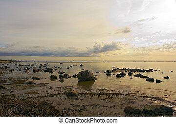 seashore. - baltic seacost.