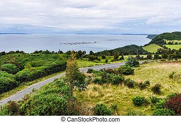 Seaside, Chiloe Island, Chile