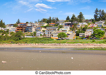 Seaside Community of White Rock near Vancouver, BC, Canada