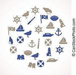 Seaside icons