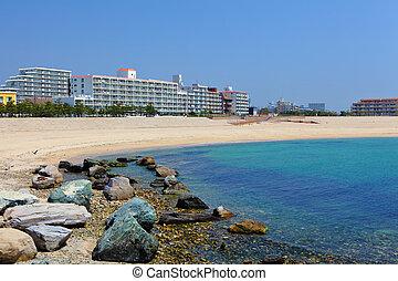 Seaside in Kobe