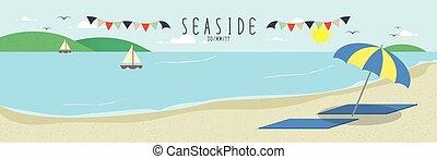 Seaside relaxation
