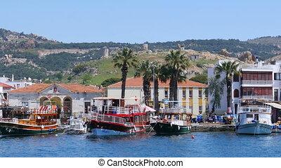 """""""seaside summer travel destination, foca, turkey"""""""