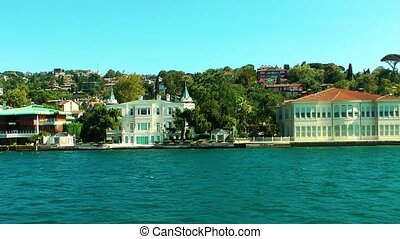 Seaside View in Istanbul Turkey