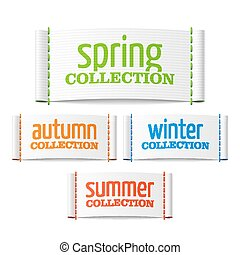 Season collection labels