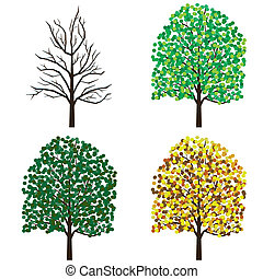 Season trees.