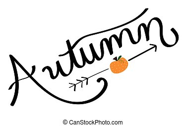 Seasonal Autumn Pumpkin