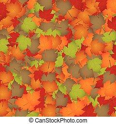 Seasonal background - Autumn leaves - seasonal background