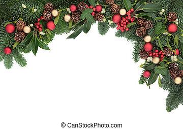 Seasonal Christmas Border