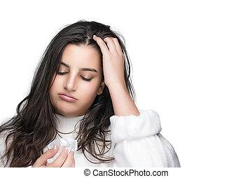 Seasonal Cold. Headache. Flu