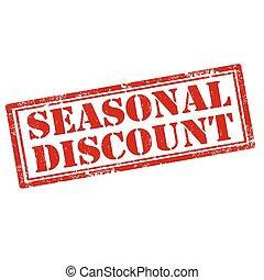 Seasonal Discount-stamp