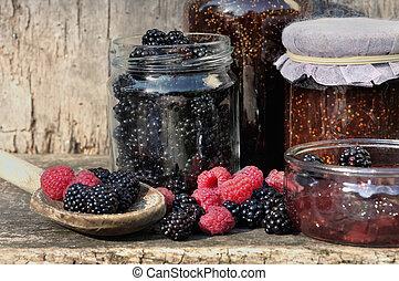 seasonal fruit for jam