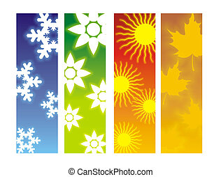 Seasons Four - Ideal Images for usage on a website or poster