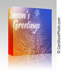 Seasons Greetings box package