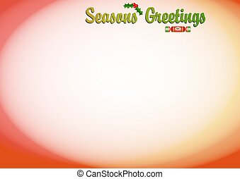 Seasons Greetings - Seasons greetings background border...