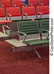 Seat at the airport